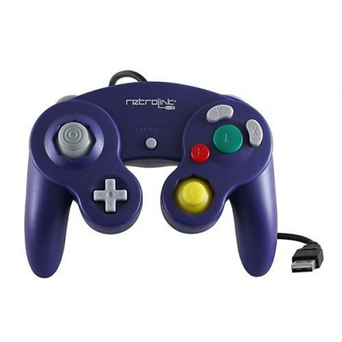 Control tipo GameCube USB para PC y MAC RetroLink