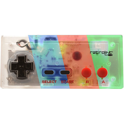 Control USB estilo NES para PC y MAC multi LED Retrolink