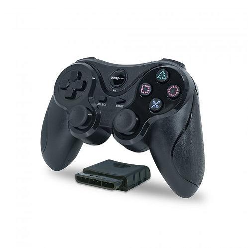 Control Inalambrico Wireless para PS2 Playstation 2 TTX TECH Negro