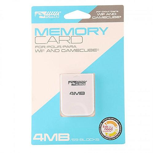 Memoria GameCube 4MB 59 Bloques KMD