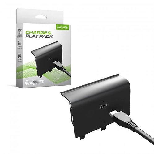 Kit Carga y Juega Bateria con Cable USB para control Xbox One KMD