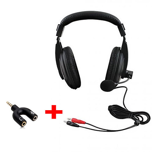 Gamer Headset Pro Auriculares con microfono con adaptador 3.5mm TTX TECH