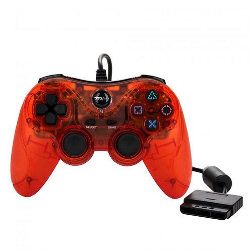Control para PS2 y PS1 Rojo TTX Tech