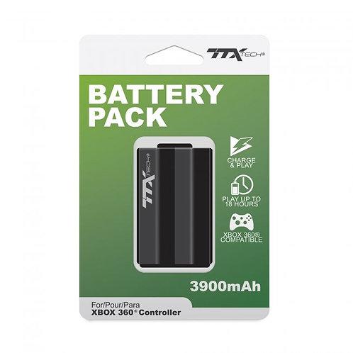 Bateria Recargable 3900 Mah para control de Xbox 360 TTX Tech