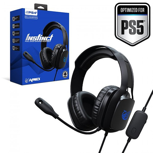 Auriculares Instinct Deluxe Gaming Headset para PS4 PS5 KMD