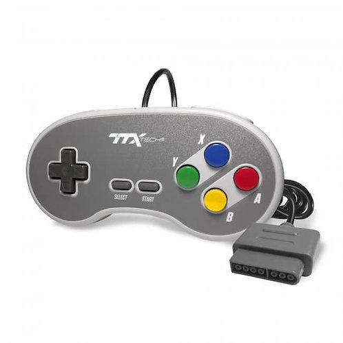Control alambrico para SNES Edicion Super Famicom TTX Tech