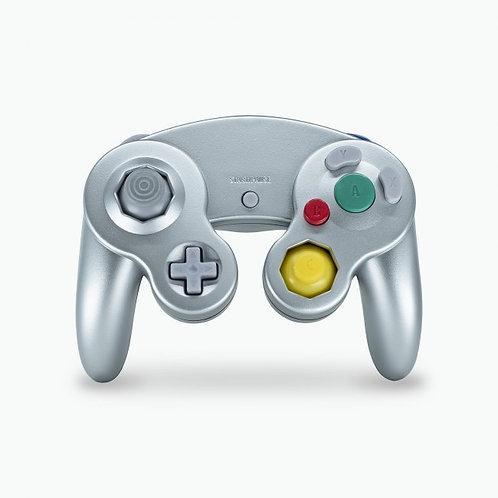 Control para GameCube y Wii Gris Teknogame