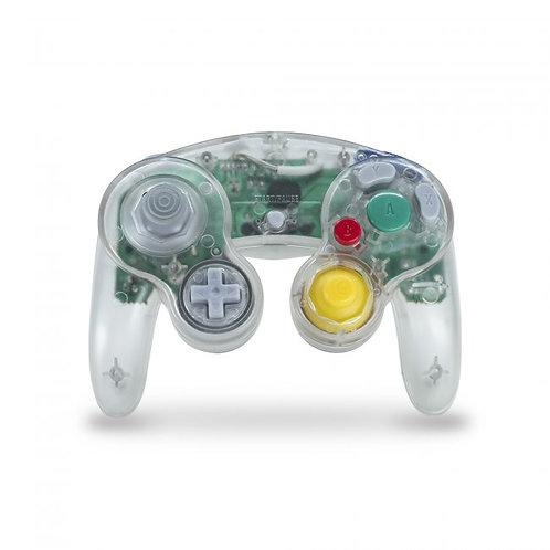 Control para GameCube y Wii Transparente Teknogame
