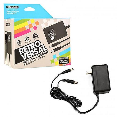 Adaptador AC de Corriente para NES SNES y Genesis 1  Retro-Bit