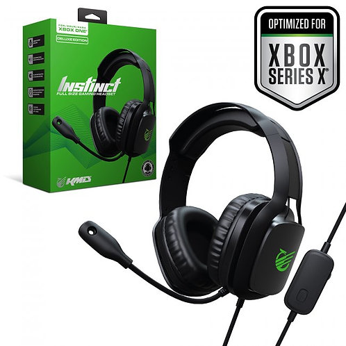 Auriculares Instinct Deluxe Gaming Headset para Xbox One / Series X