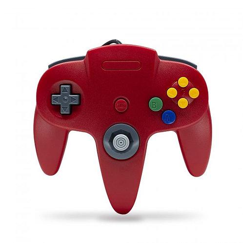 Control para Nintendo 64 N64 Nuevo en Caja TTX Tech Rojo