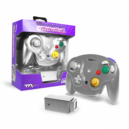 Control inalambrico para GameCube Wavedash Wireless  Gris TTX TECH