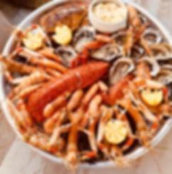 plateau de fruits de mer spécial crustacés