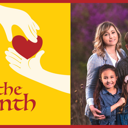 Tip of the Month Recipient   The Myers Family