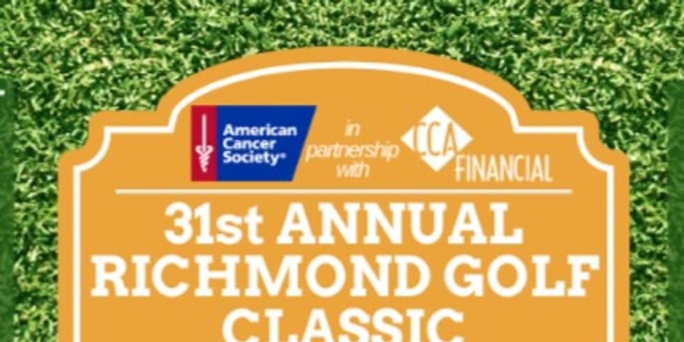 American Cancer Society's 31st Annual Richmond Golf Classic