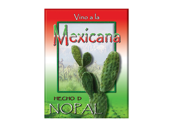 Nopal Wine Label 2