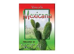 Nopal Wine Label 2
