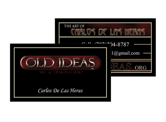 Old Ideas BCards