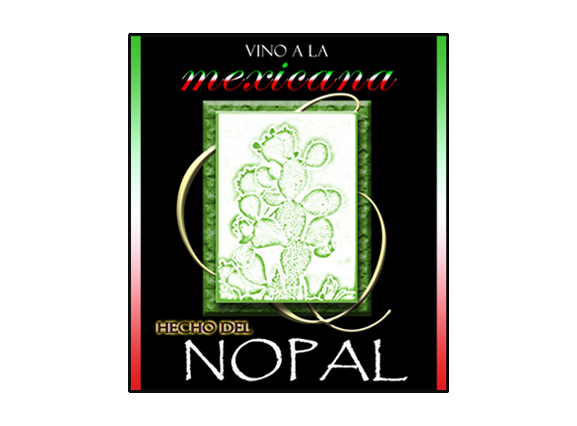 Nopal Wine Label 1