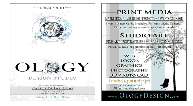 Ology Design Business Card