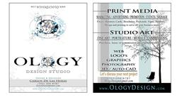 Ology Design Business Card