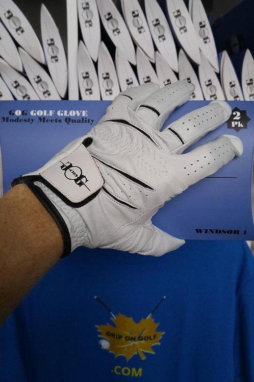 GRIP ON GOLF Windsor 1st Edition Leather Golf Glove 2 Pak $15.99