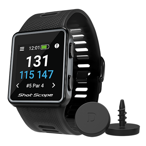 Shot Scope V3 Black GPS Golf Watch