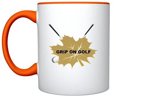 Grip On Golf Logo Mug with Golf Accessories