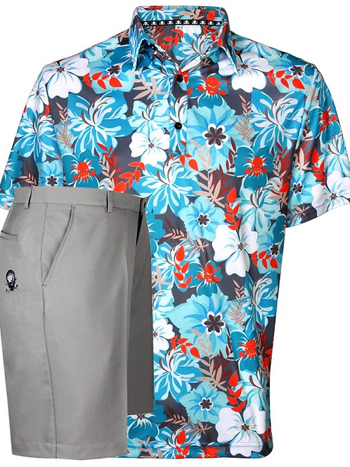Aloha II Men's Golf Shirt & Golf Shorts