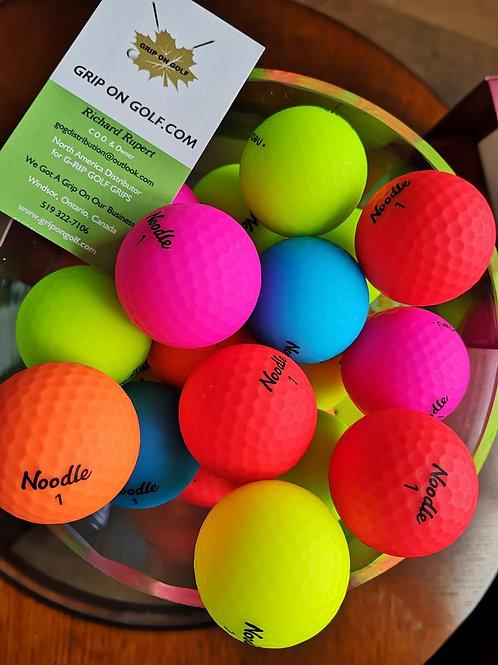Neon Soft Noodle Balls