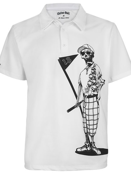 Tattoo Mr. Bones Golf Shirt