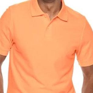 Orange Men's Polo Shirt Croft & Barrow