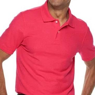 Men's Pink Croft & Barrow Polo Shirt