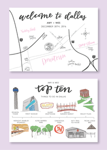 Sweet Karoline Events Guest Welcome Bags - Emily Kathryn Designs