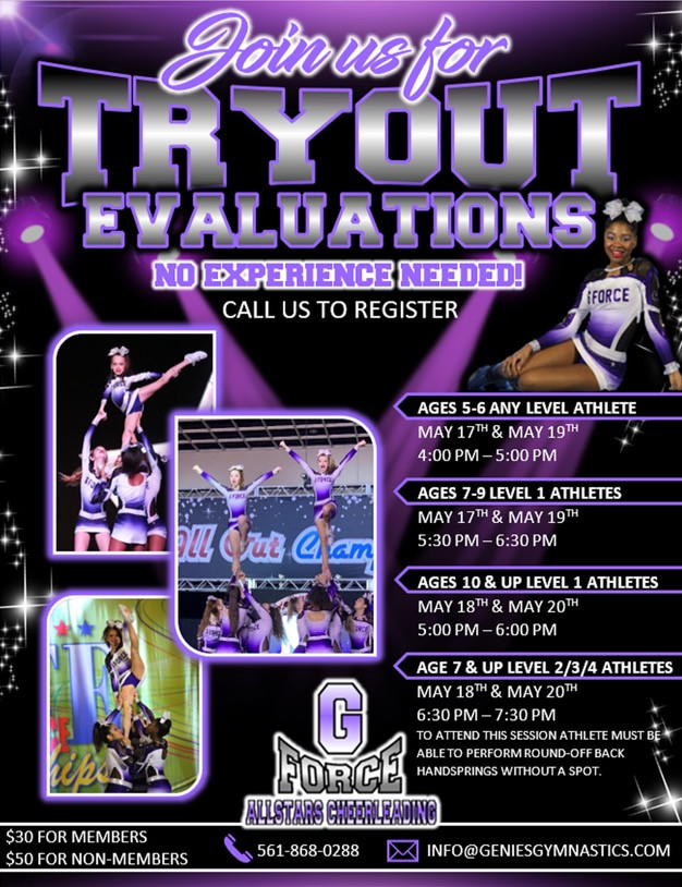 TRYOUTS 2021/2021