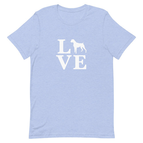 Boxer Love T-Shirt - Adult (Multiple Colors Available)