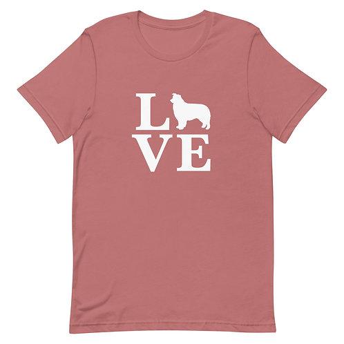 Australian Shepherd Love T-Shirt - Adult (Multiple Colors Available)