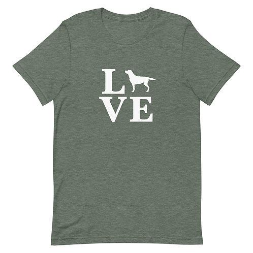 Labrador Retriever Love T-Shirt - Adult (Multiple Colors Available)