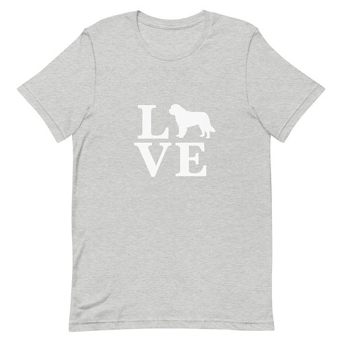 Saint Bernard Love T-Shirt - Adult (Multiple Colors Available)