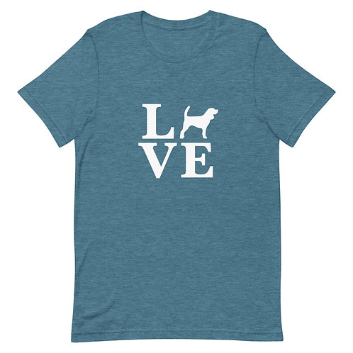 Beagle Love T-Shirt - Adult (Multiple Colors Available)