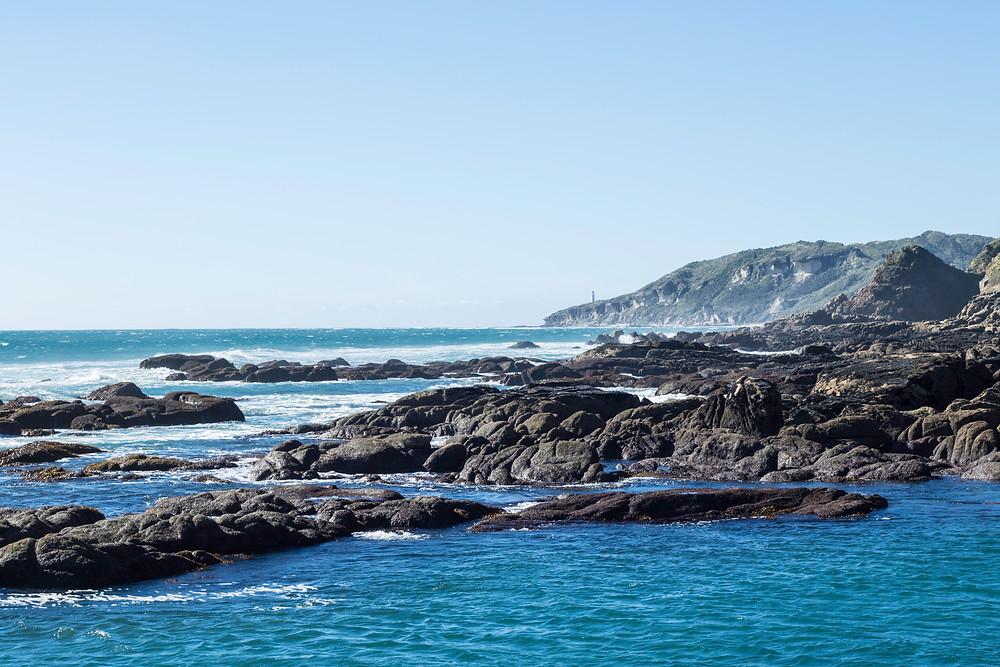 The Kahurangi Coast with the Kahurangi Lighthouse