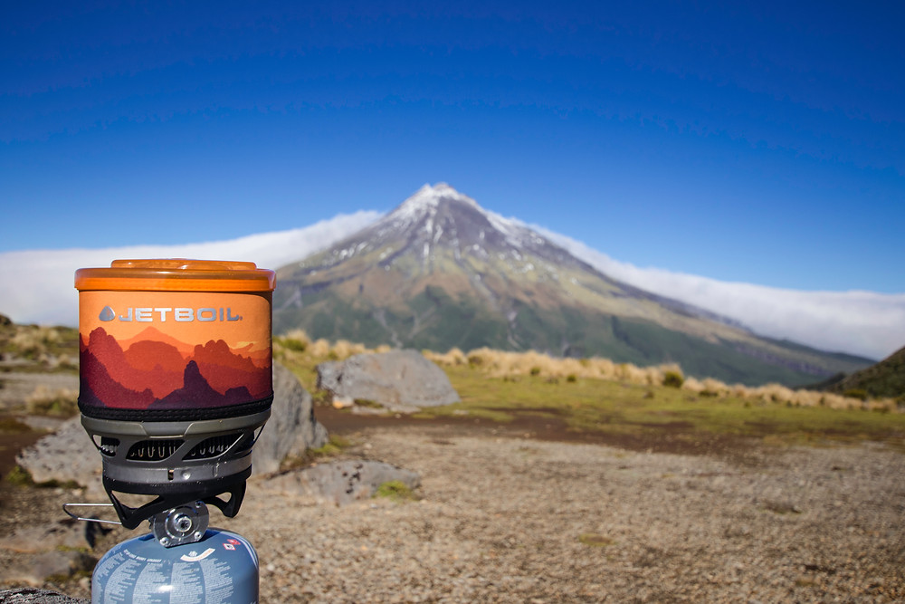Preparing a hot drink with this fantastic view