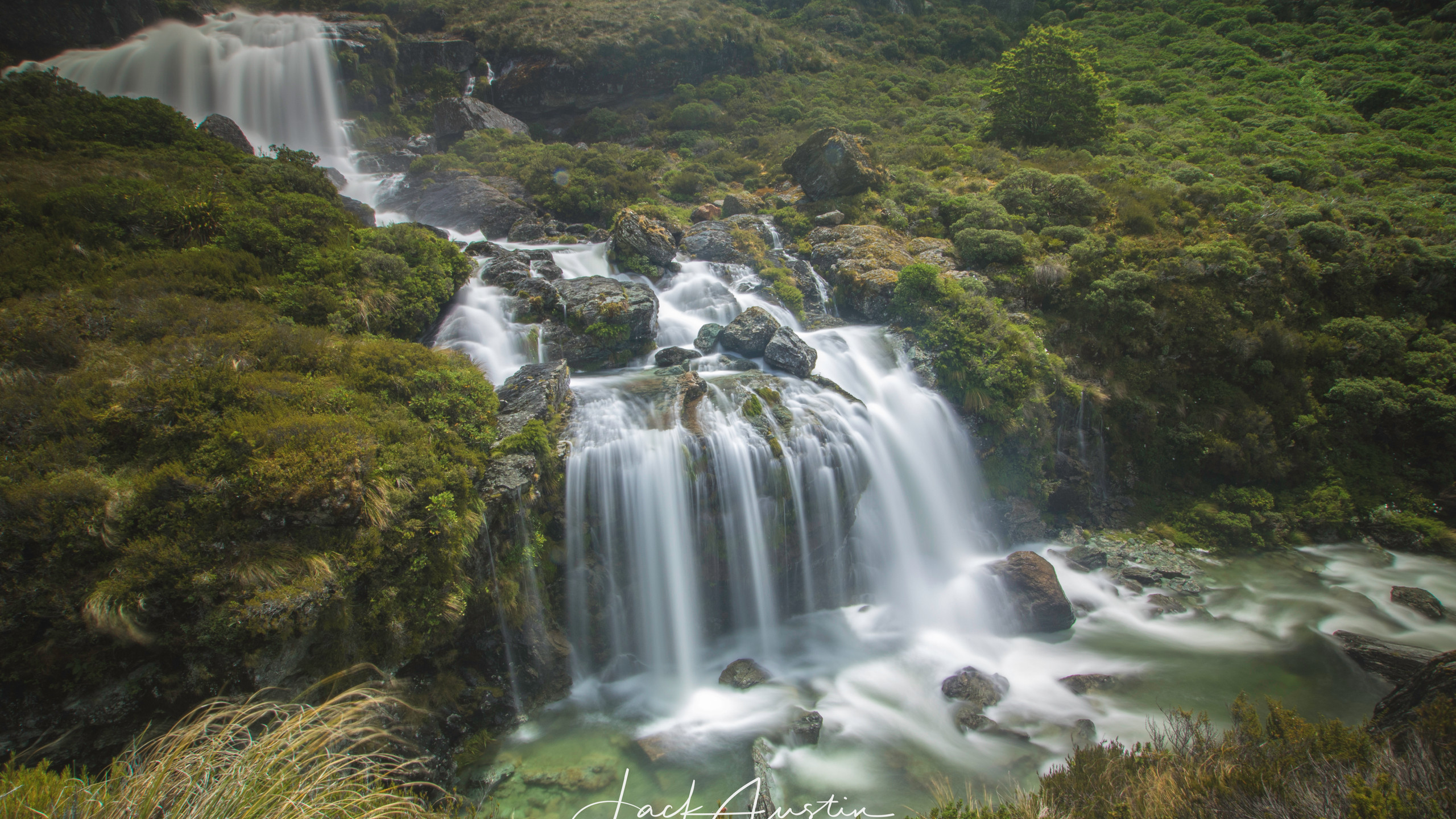 The Routeburn Falls