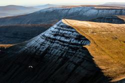 Paragliding the Brecon Beacons
