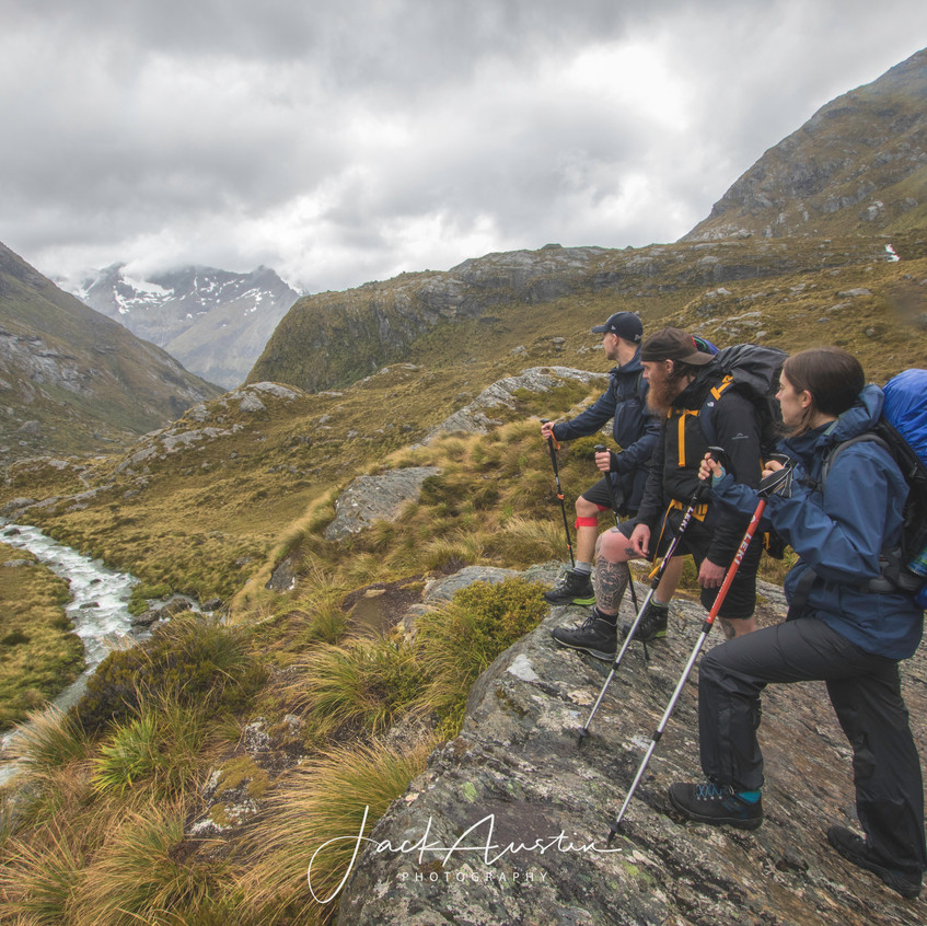 Into the Routeburn Valley