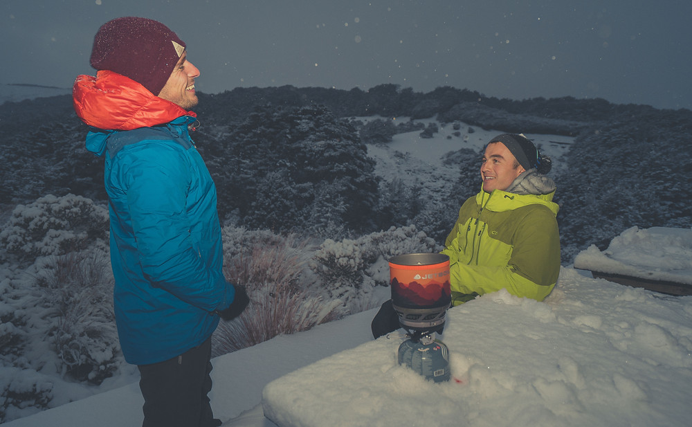 A quick and easy mealtime - jetboil