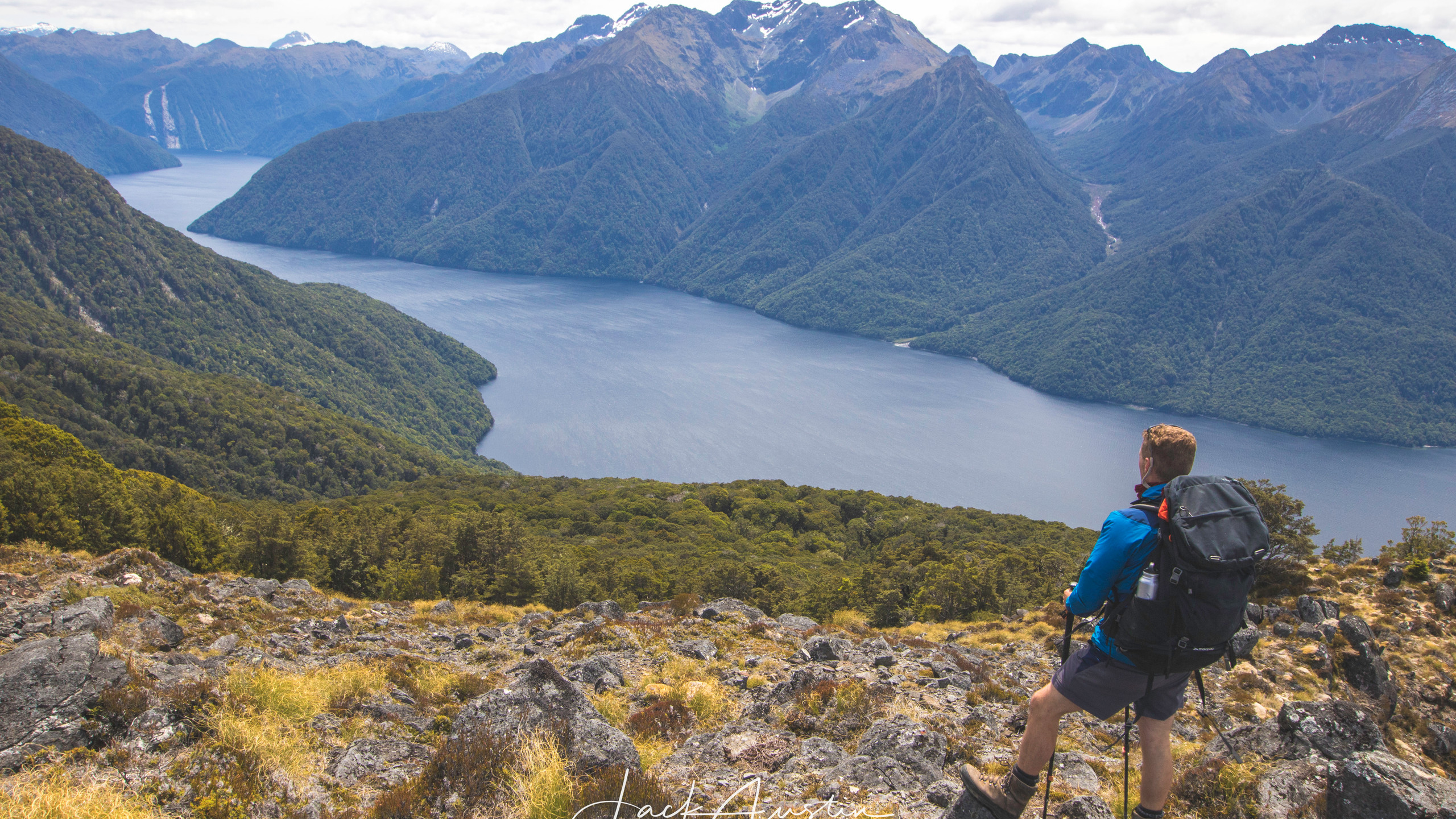 The view over the South fiords