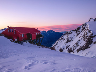 Alpine Huts Of Mount Cook
