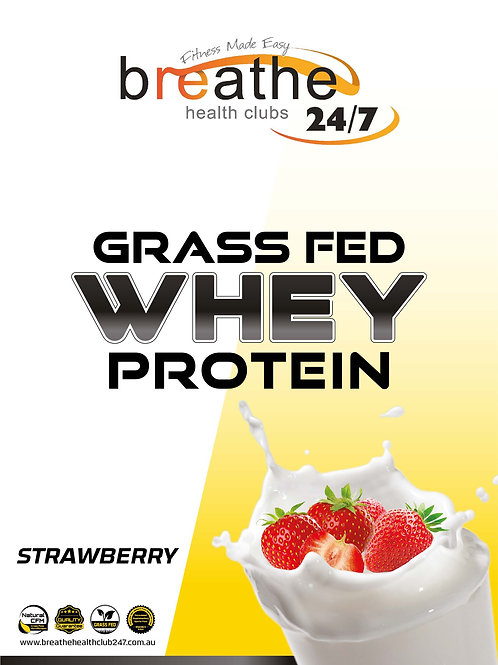 WPC Strawberry Protein