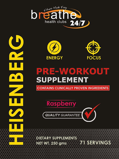 Heisenberg Pre-Workout